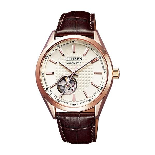 CITIZEN COLLECTION シチズン コレクション オートマティック メカニカル 機械式 シースルーバック メンズ腕時計 NH9110-14A