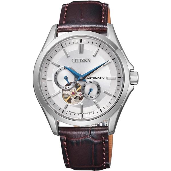 CITIZEN COLLECTION シチズンコレクション オートマティック ステンレス シースルーバック メンズ腕時計 NP1010-01A
