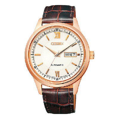 CITIZEN COLLECTION シチズンコレクション 機械式腕時計 シースルーバック メンズ腕時計 NY4052-08A