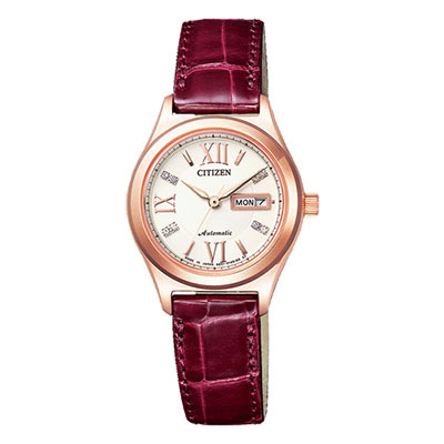 CITIZEN COLLECTION シチズン コレクション 機械式腕時計 シースルーバック レディース腕時計 PD7162-04A