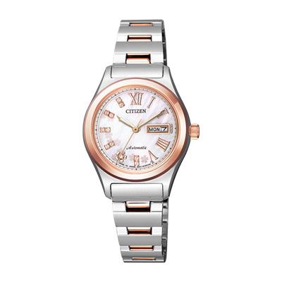 CITIZEN COLLECTION シチズンコレクション 自動巻き腕時計 シースルーバック レディース腕時計 PD7166-54Y