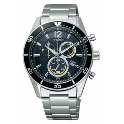 CITIZEN ALTERNA シチズン オルタナ クロノグラフ エコドライブ時計 メンズ腕時計 VO10-6742F