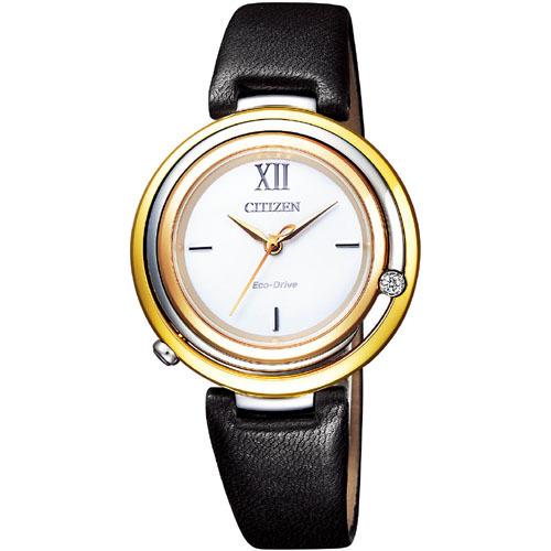 CITIZEN L シチズン エル エコドライブ アークリー レディース腕時計 EM0656-23A