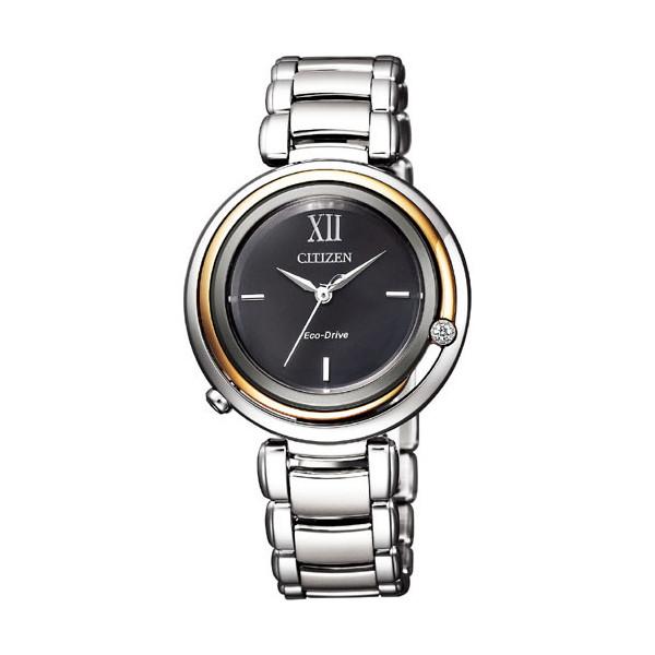 CITIZEN L シチズン エル エコドライブ アークリー レディース腕時計 EM0658-95E