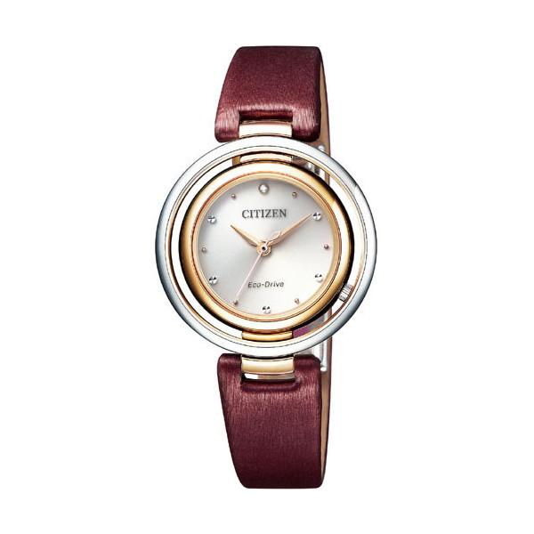 CITIZEN L シチズン エル エコドライブ アークリー レディース腕時計 EM0669-21X
