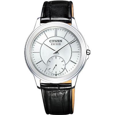CITIZEN EXCEED シチズン エクシード エコドライブ 40周年記念 薄型 メンズ腕時計 AQ5000-13A