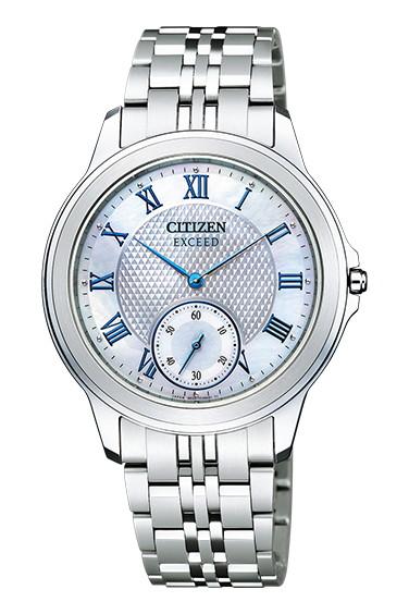 CITIZEN EXCEED シチズン エクシード エコドライブ メンズ腕時計 AQ5000-56D