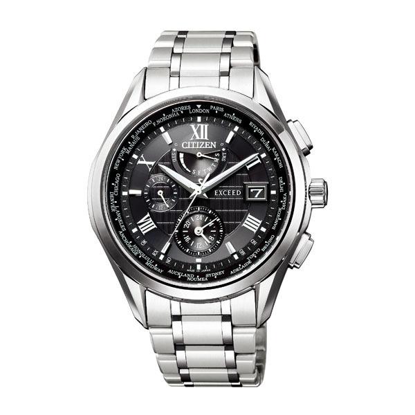 CITIZEN EXCEED シチズン エクシード エコドライブ 電波時計 メンズ腕時計 AT9110-58E