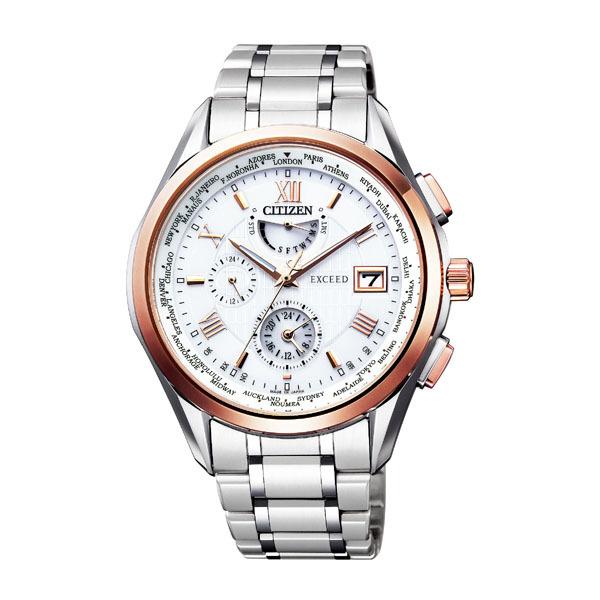 CITIZEN EXCEED シチズン エクシード エコドライブ 電波時計 メンズ腕時計 AT9114-57A