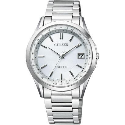 CITIZEN EXCEED シチズン エクシード ワールドタイム電波時計 メンズ腕時計 CB1110-53A