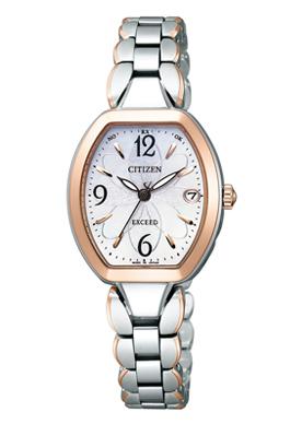 CITIZEN EXCEED シチズン エクシード エコドライブ電波 レディース腕時計 ES8064-56A