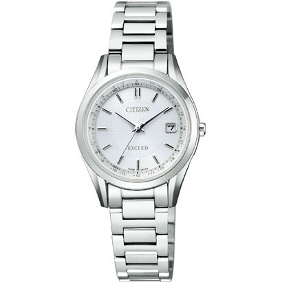 CITIZEN EXCEED シチズン エクシード ワールドタイム電波時計 レディース腕時計 ES9370-54A