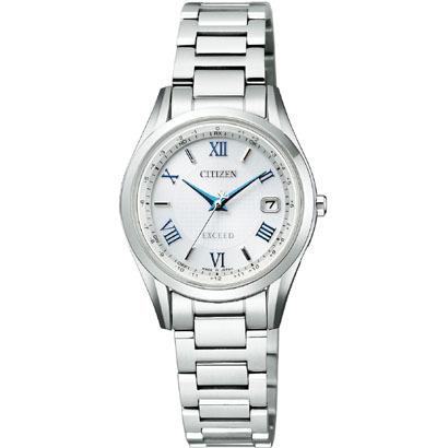 CITIZEN EXCEED シチズン エクシード ワールドタイム電波時計 レディース腕時計 ES9370-62A