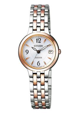 CITIZEN EXCEED シチズン エクシード エコドライブ レディース腕時計 EW2264-54A