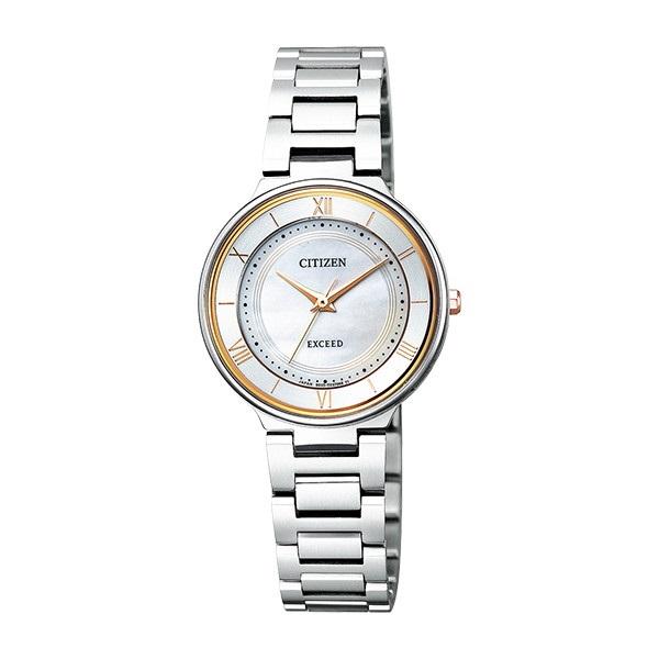 CITIZEN EXCEED シチズン エクシード エコドライブ ペアモデル レディース腕時計 EX2090-57P
