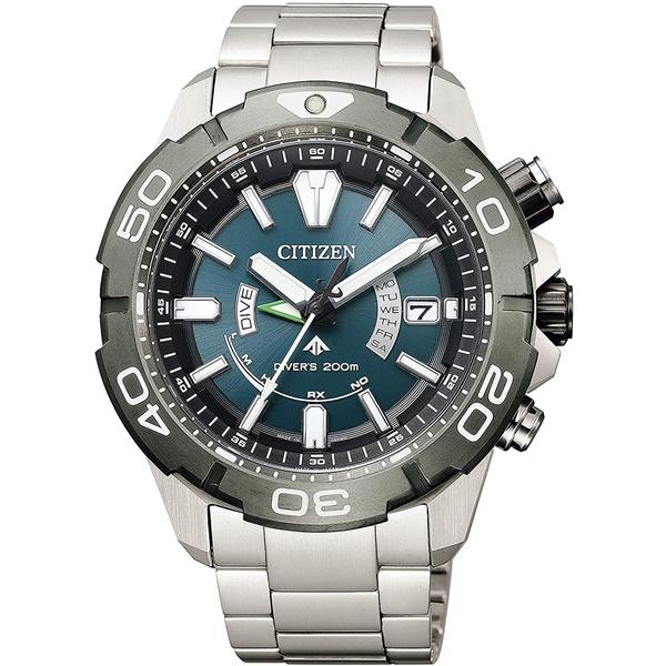 CITIZEN PRO MASTER シチズン プロマスター スーパーチタニウム デュラテクトDLC ダイバーズウオッチ メンズ腕時計 AS7145-69L