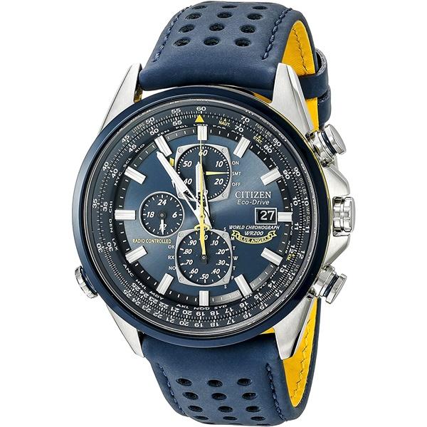 CITIZEN PRO MASTER シチズン プロマスター ブルーエンジェルス クロノグラフ 航空計算尺 スカイ メンズ腕時計 AT8020-03L