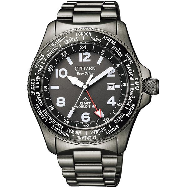 CITIZEN PRO MASTER シチズン プロマスター エコ・ドライブ 20気圧防水 メンズ腕時計 BJ7107-83E
