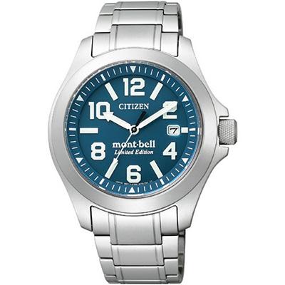 CITIZEN PRO MASTER シチズン プロマスター エコ・ドライブ プロマスター×mont・bell メンズ腕時計 BN0121-51L