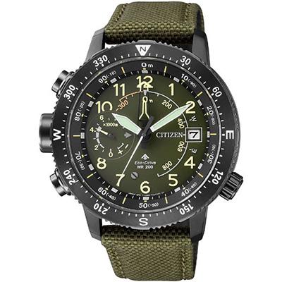 CITIZEN PRO MASTER シチズン プロマスター LAND アルティクロン メンズ腕時計 BN4046-10X