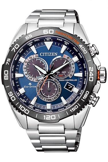 CITIZEN PRO MASTER シチズン プロマスター エコ・ドライブ電波時計 ダイレクトフライト メンズ腕時計 CB5034-82L