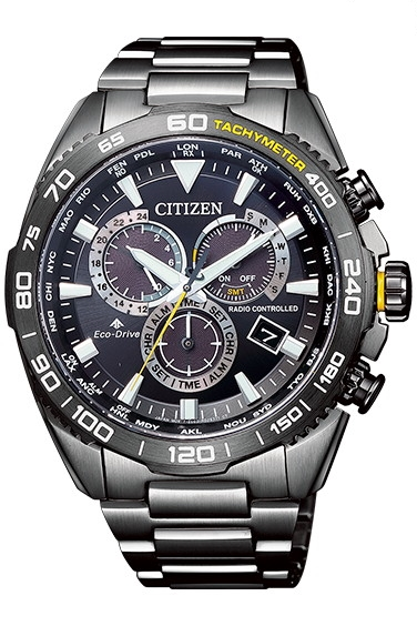 CITIZEN PRO MASTER シチズン プロマスター エコドライブ 電波時計 ダイレクトフライト メンズ腕時計 CB5037-84E