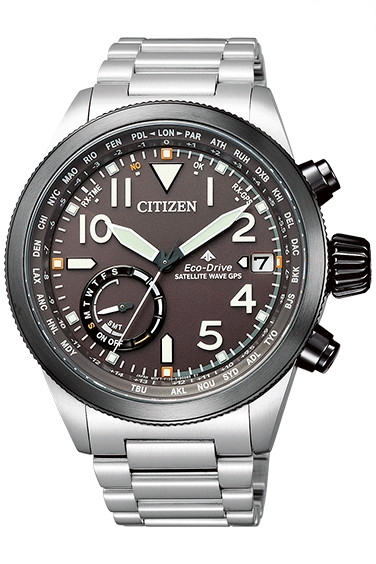 CITIZEN PRO MASTER シチズン プロマスター エコドライブ 電波時計 ダイレクトフライト GPS衛星 メンズ腕時計 CC3064-86E