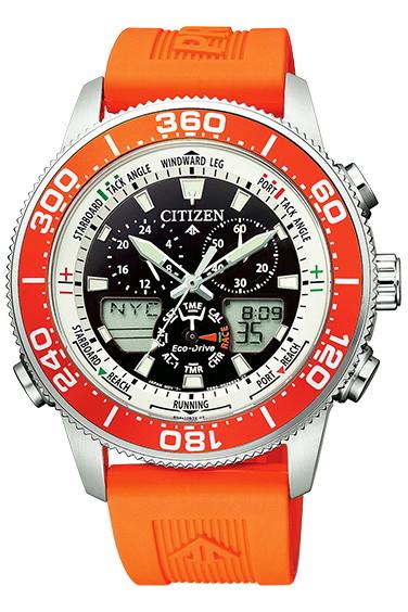 CITIZEN PRO MASTER シチズン プロマスター エコ・ドライブ 20気圧防水 メンズ腕時計 JR4061-18E