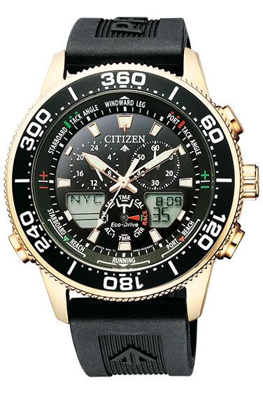 CITIZEN PRO MASTER シチズン プロマスター エコ・ドライブ 20気圧防水 メンズ腕時計 JR4063-12E