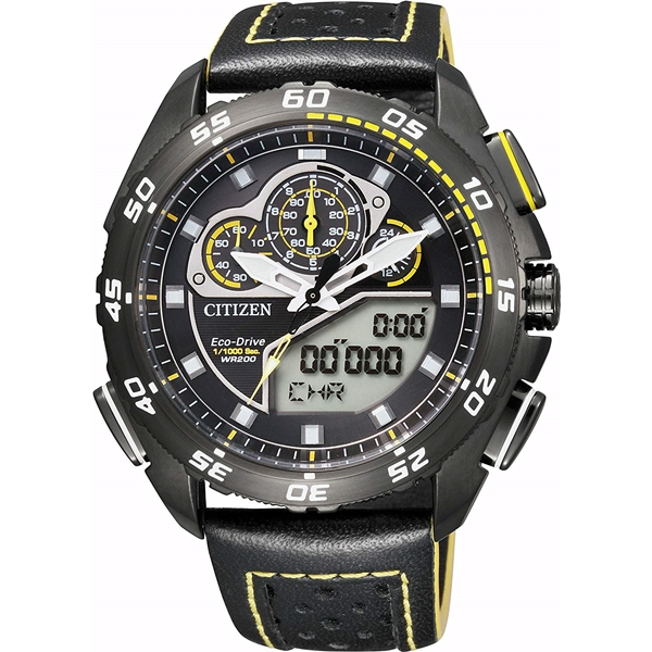 CITIZEN PRO MASTER シチズン プロマスター エコ・ドライブ ランド クロノグラフ メンズ腕時計 JW0127-04E