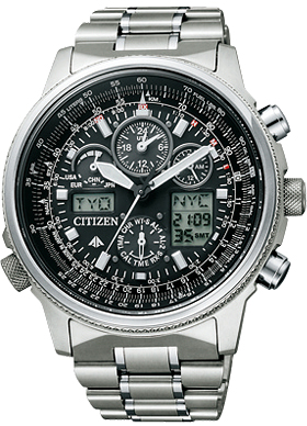 ★Citizen citizen PROMASTER (professional master) SKY (the sky) ecodrive radio time signal PMV65-2271