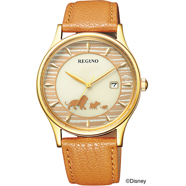 CITIZEN REGUNO シチズン レグノ Disneyコレクション ライオンキング ソーラーテック 限定モデル レディース腕時計 KH2-928-30