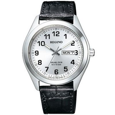 CITIZEN REGUNO シチズン レグノ ソーラーテック メンズ腕時計 KM1-016-10
