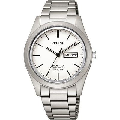 CITIZEN REGUNO シチズン レグノ ソーラーテック 10気圧防水 メンズ腕時計 KM1-415-11