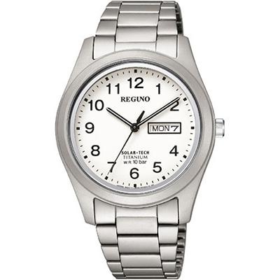 CITIZEN REGUNO シチズン レグノ ソーラーテック 10気圧防水 メンズ腕時計 KM1-415-13