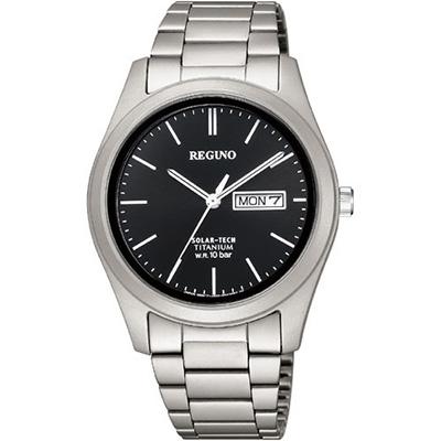 CITIZEN REGUNO シチズン レグノ ソーラーテック 10気圧防水 メンズ腕時計 KM1-415-51