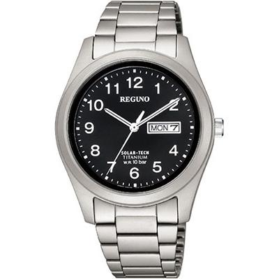 CITIZEN REGUNO シチズン レグノ ソーラーテック 10気圧防水 メンズ腕時計 KM1-415-53