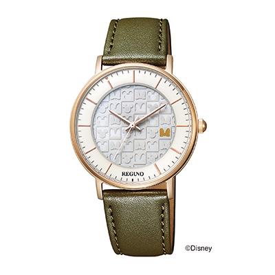 CITIZEN REGUNO シチズン レグノ シンプルシリーズ Disneyコレクション ユニセックス腕時計 KP3-121-14