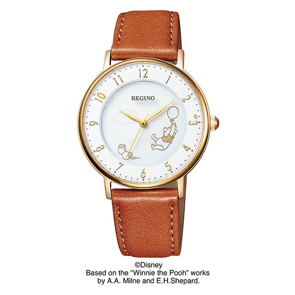 CITIZEN REGUNO シチズン レグノ Disneyコレクション 『プー』限定モデル ユニセックス腕時計 kp3-121-16