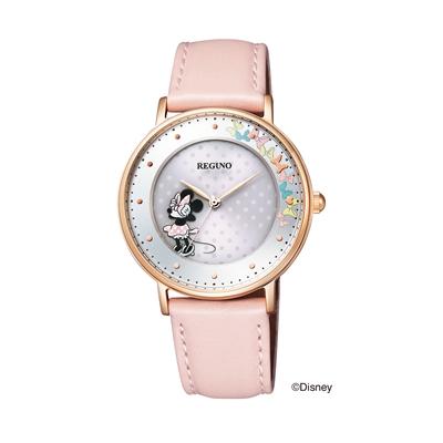 CITIZEN REGUNO シチズン レグノ Disneyコレクション 「ミニーマウス」モデル レディース腕時計 KP3-163-10