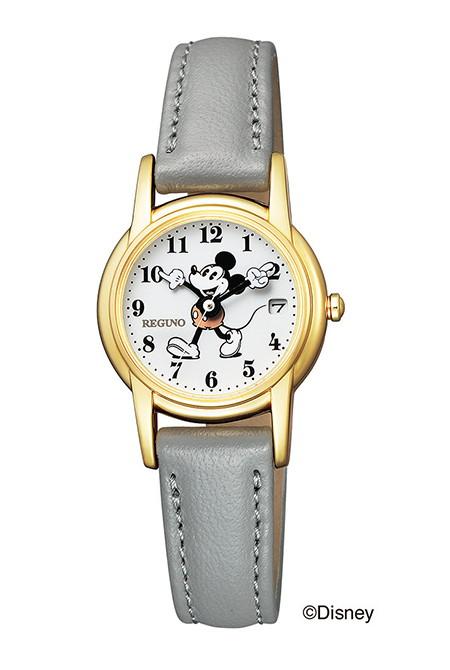 CITIZEN REGUNO シチズン レグノ ソーラーテック ミッキーマウス レディース腕時計 KP7-126-10