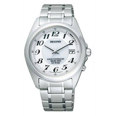 CITIZEN REGUNO シチズン レグノ ソーラーテック電波時計 メンズ腕時計 RS25-0347H