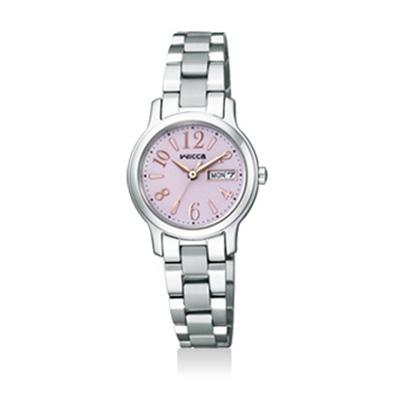 サイズ調整無料 CITIZEN wicca シチズン KH3-410-91 注文後の変更キャンセル返品 レディース腕時計 販売 ウィッカ ソーラーテック