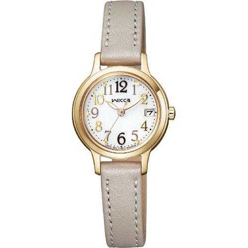 CITIZEN wicca シチズン ウィッカ ソーラーテック レディース腕時計 KH4-921-10