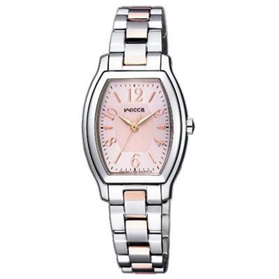 CITIZEN wicca シチズン ウィッカ ソーラーテック レディース腕時計 KH8-730-93