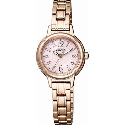 CITIZEN wicca シチズン ウィッカ ソーラーテック レディース腕時計 KH9-965-91