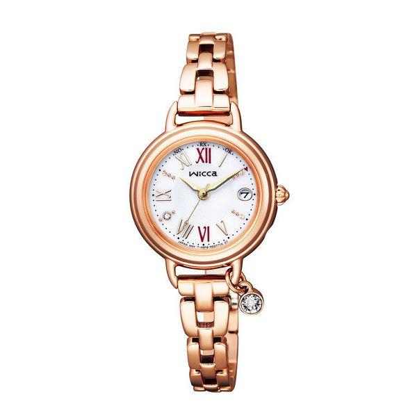 CITIZEN WICCA シチズン ウィッカ ソーラーテック電波時計 レディース腕時計 KL0-561-15