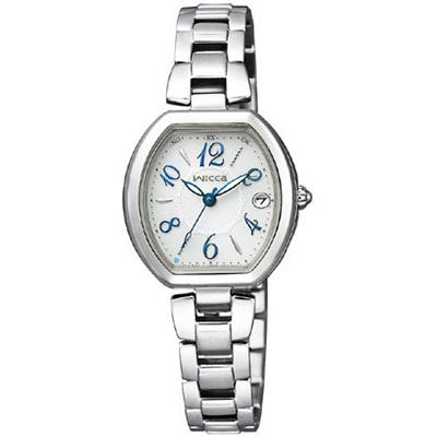 CITIZEN WICCA シチズン ウィッカ 電波ソーラー レディース腕時計 KL0-715-11