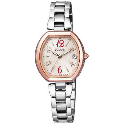 CITIZEN wicca シチズン ウィッカ 電波ソーラー レディース腕時計 KL0-731-91