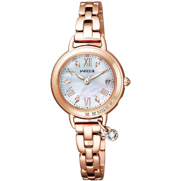 CITIZEN wicca シチズン ウィッカ 電波時計 レディース腕時計 KL0-863-11